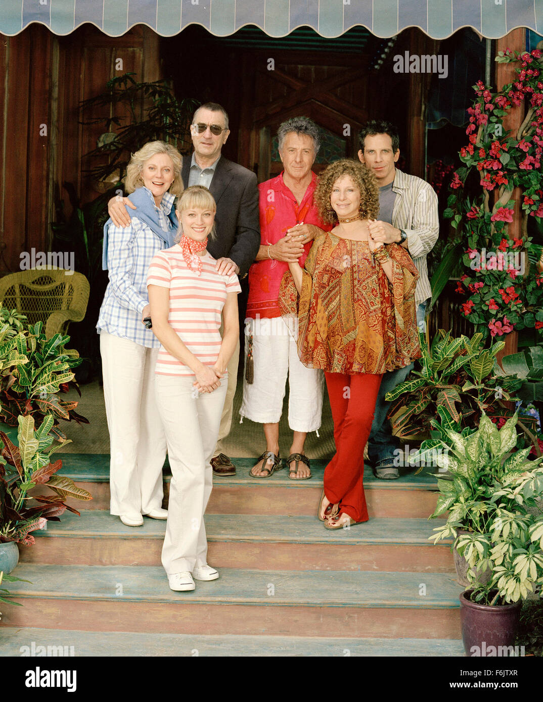 Dec 03, 2004; Los Angeles, CA, USA; The makers and stars behind the runaway hit of 2000, Meet the Parents, are re - Stock Image