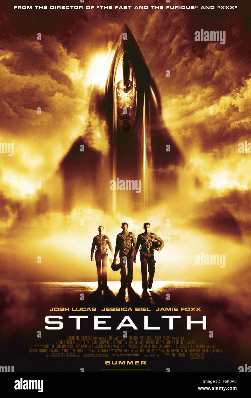 RELEASE DATE: July 29, 2005  MOVIE TITLE: Stealth  STUDIO: Columbia