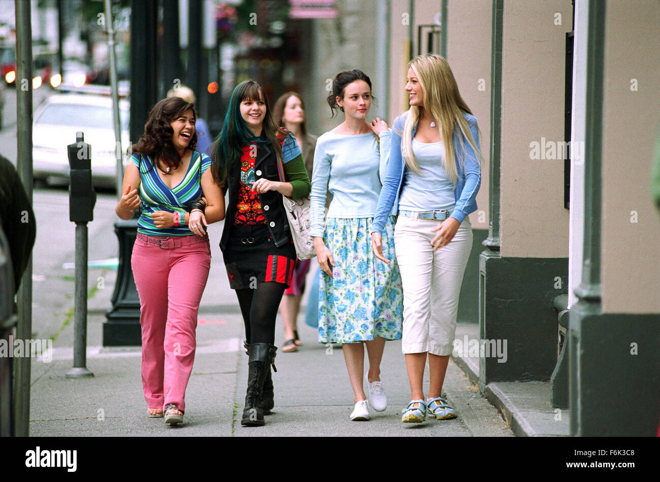 RELEASE DATE: June 1, 2005. MOVIE TITLE: The Sisterhood of Traveling Pants. STUDIO: Alcon Entertainment. PLOT: The - Stock Image