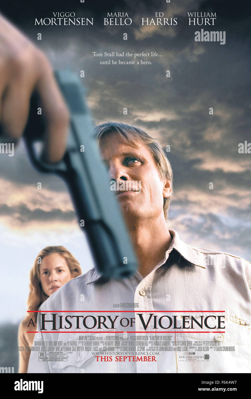 RELEASE DATE: September 30, 2005  MOVIE TITLE: A History of Violence