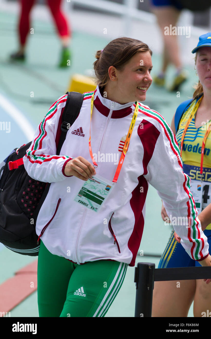 Krisztina Varadi of Hungary,Women's discus throw, - Stock Image