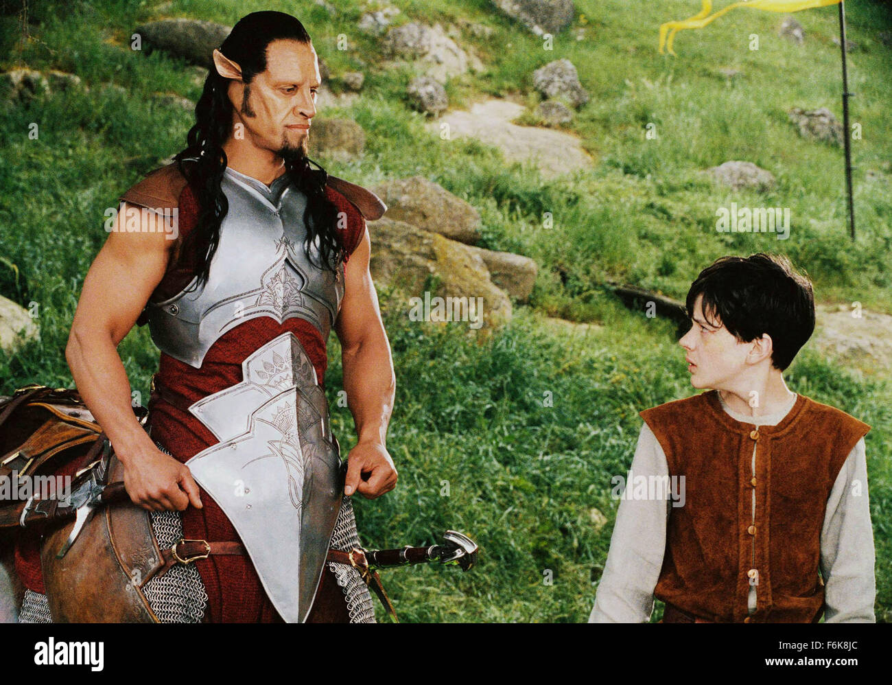 RELEASE DATE: December 9, 2005. MOVIE TITLE: The Chronicles of Narnia: The Lion, the Witch and the Wardrobe. STUDIO: - Stock Image