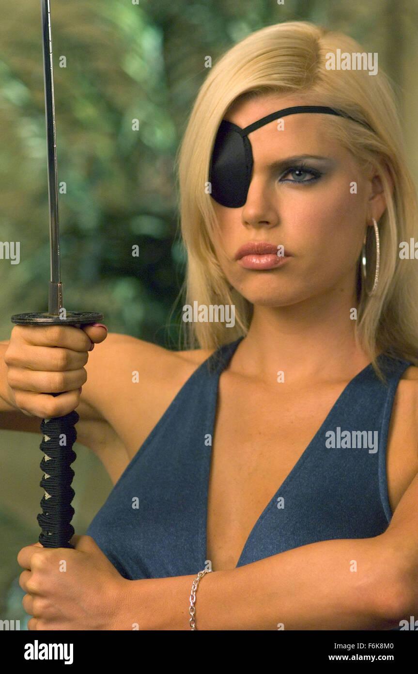 RELEASE DATE: Feburary 17, 2006. MOVIE TITLE: Date Movie. STUDIO: New Regency Pictures. PLOT: Julia Jones is unhappy. - Stock Image