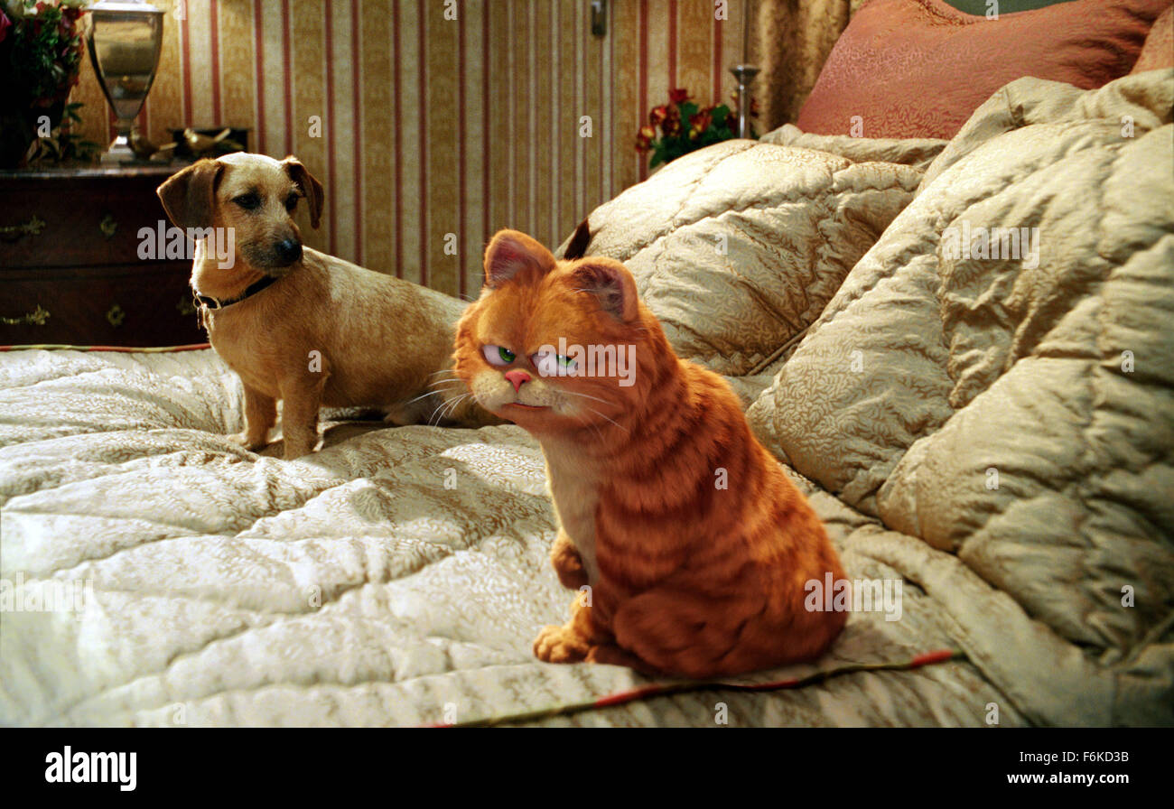 Release Date June 16 2006 Movie Title Garfield A Tail Of Two Stock Photo Alamy