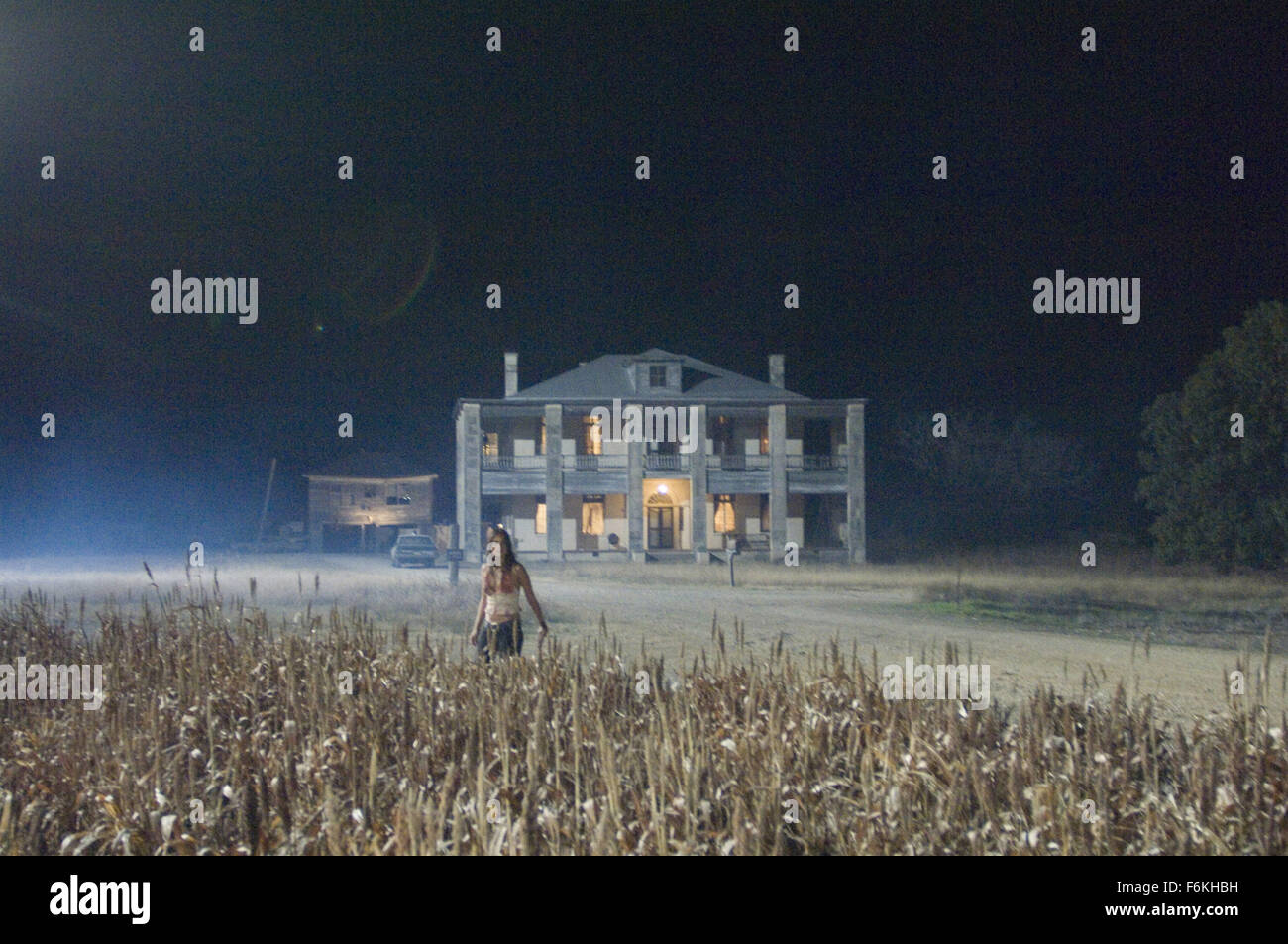 RELEASE DATE: October 6, 2006. MOVIE TITLE: The Texas Chainsaw Massacre: The Beginning. STUDIO: New Line Cinema. - Stock Image