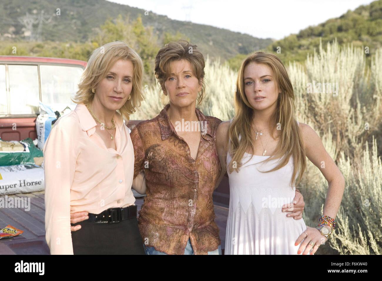 RELEASE DATE: 2007. STUDIO: Universal Studios. PLOT: Georgia Rule follows a rebellious, uncontrollable teenager - Stock Image