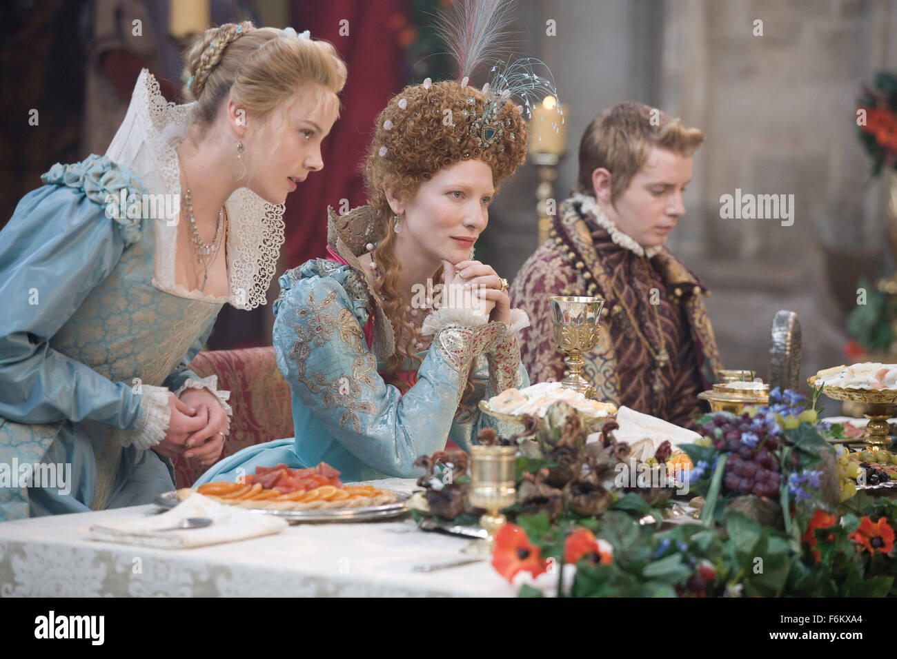RELEASE DATE: October 12, 2007. MOVIE TITLE: Elizabeth: The Golden Age - STUDIO: Working Title Films/Universal Pictures. - Stock Image