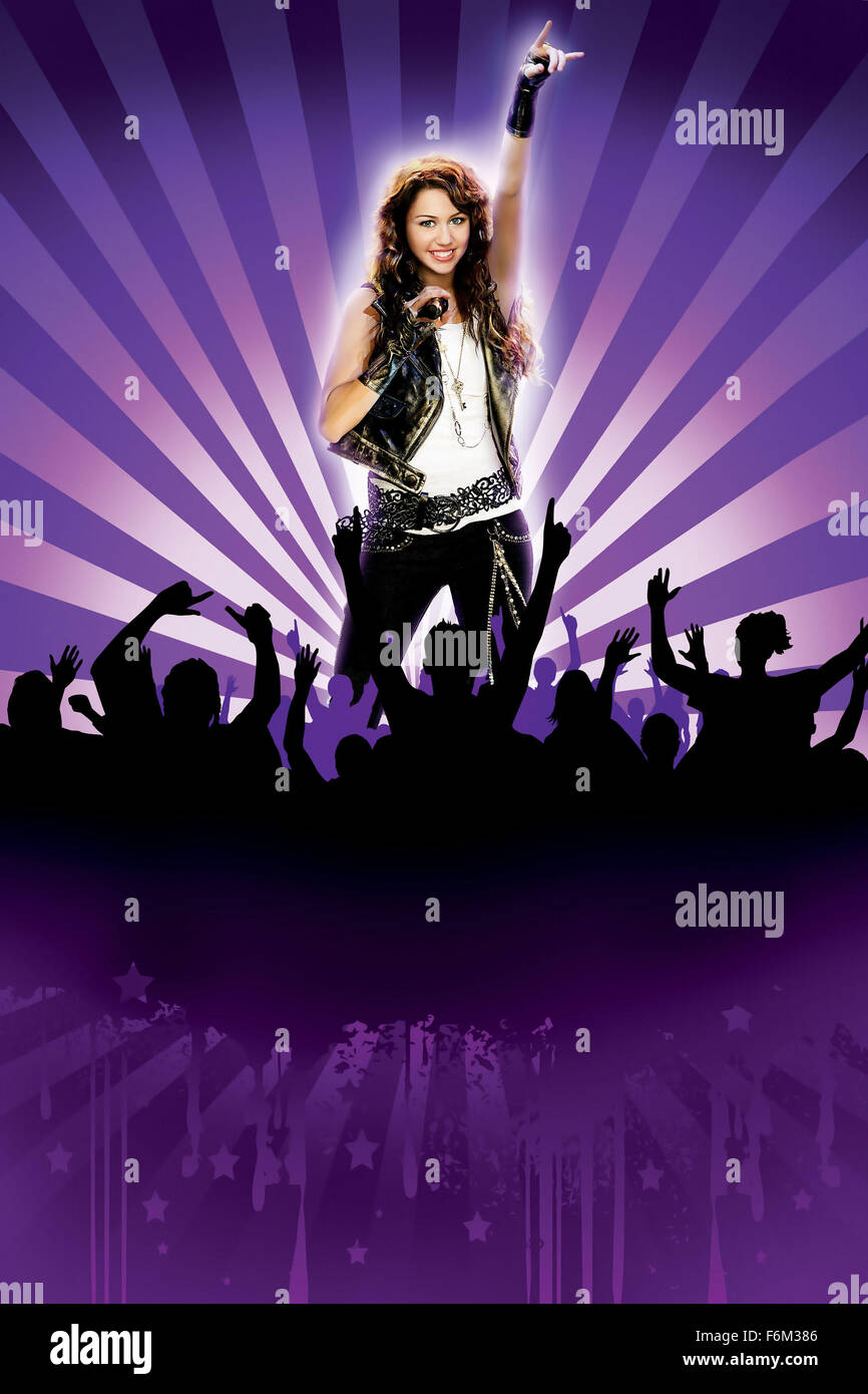 Miley Cyrus Poster Film Title Hannah Montana High Resolution Stock Photography And Images Alamy