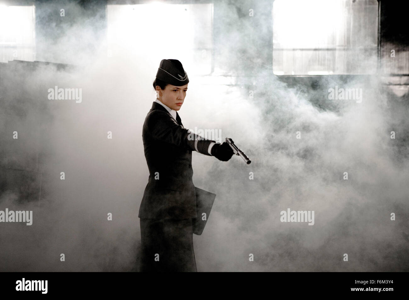 RELEASE DATE: 5 March 2008 . MOVIE TITLE: Les Femmes de l'ombre aka Female Agents. STUDIO: Cineart. PLOT: In - Stock Image