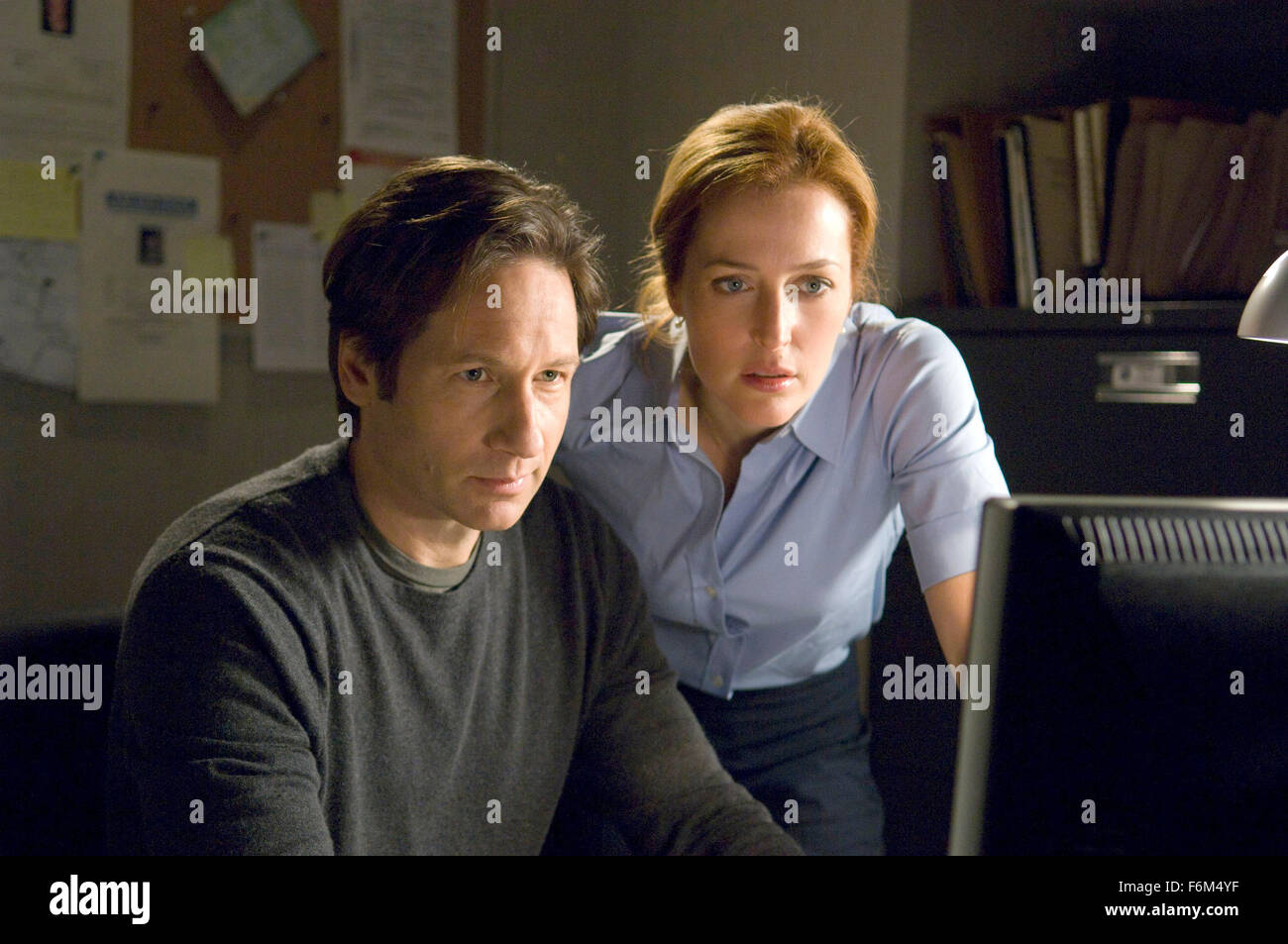 RELEASE DATE: July 25, 2008. MOVIE TITLE: The X-Files: I Want to Believe. STUDIO: 20th Century Fox. PLOT: Mulder - Stock Image