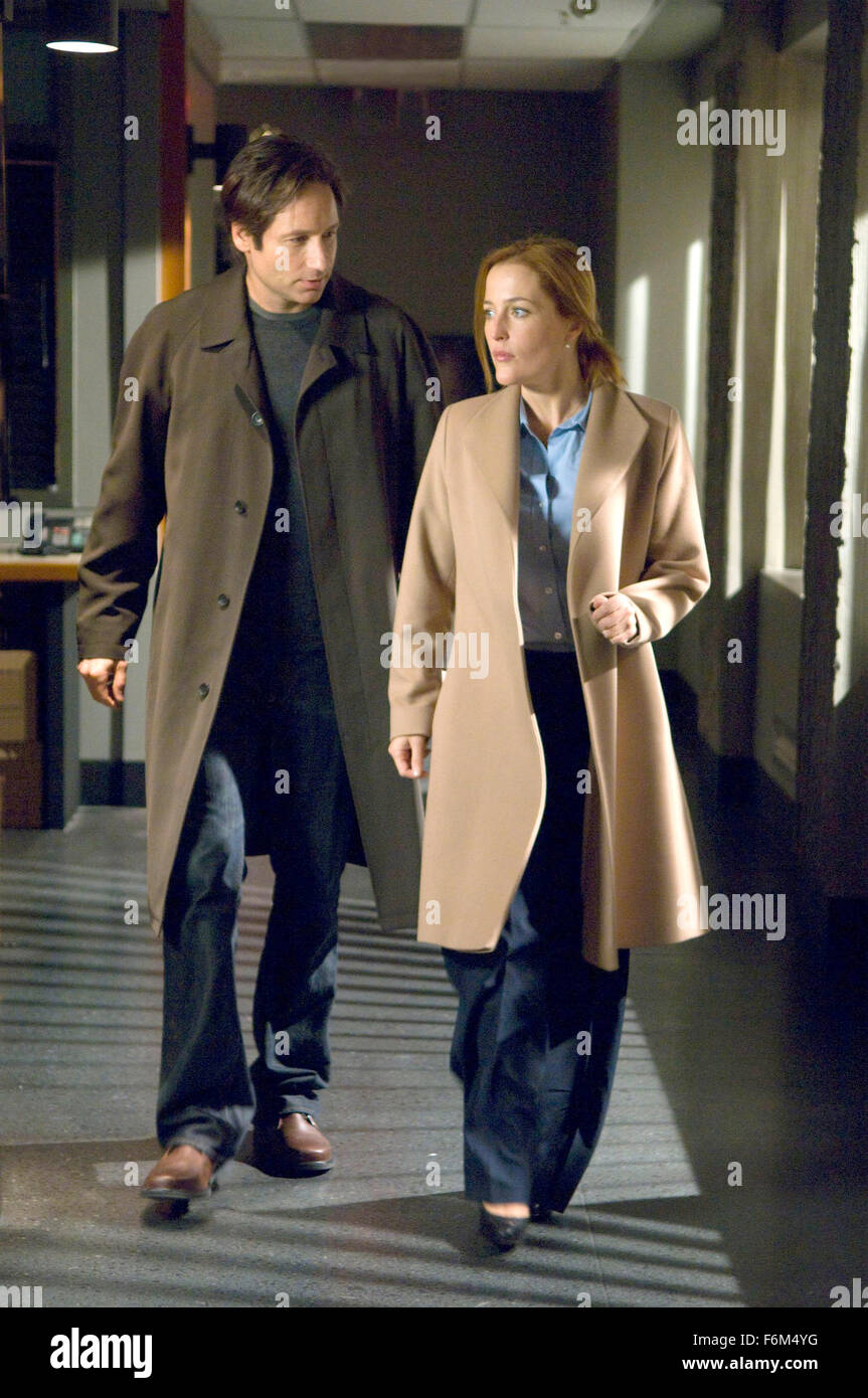 RELEASE DATE: July 25, 2008  MOVIE TITLE: The X-Files: I Want to