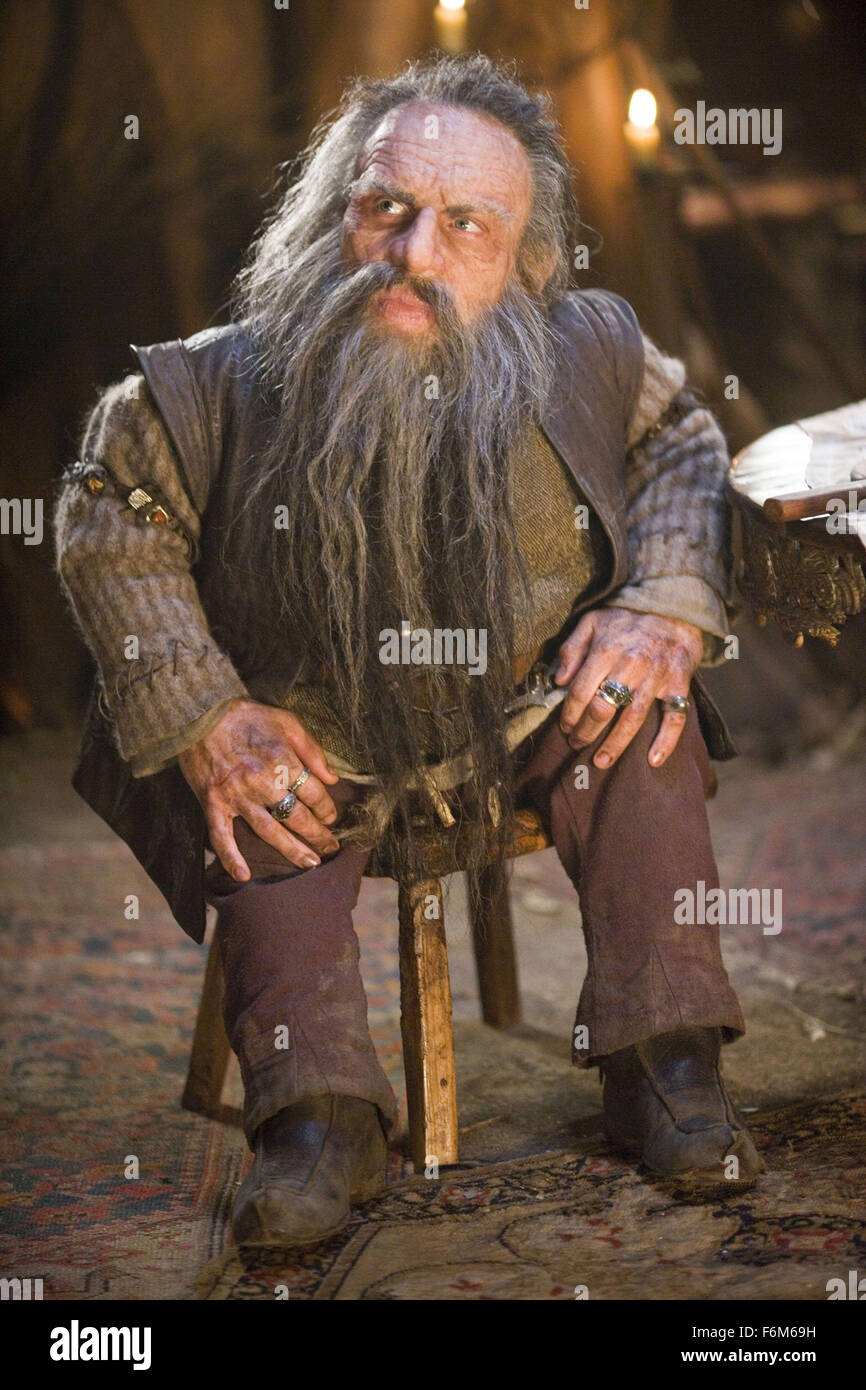 Warwick Davis As Nikabrik Film Title The Chronicles Of Narnia Stock