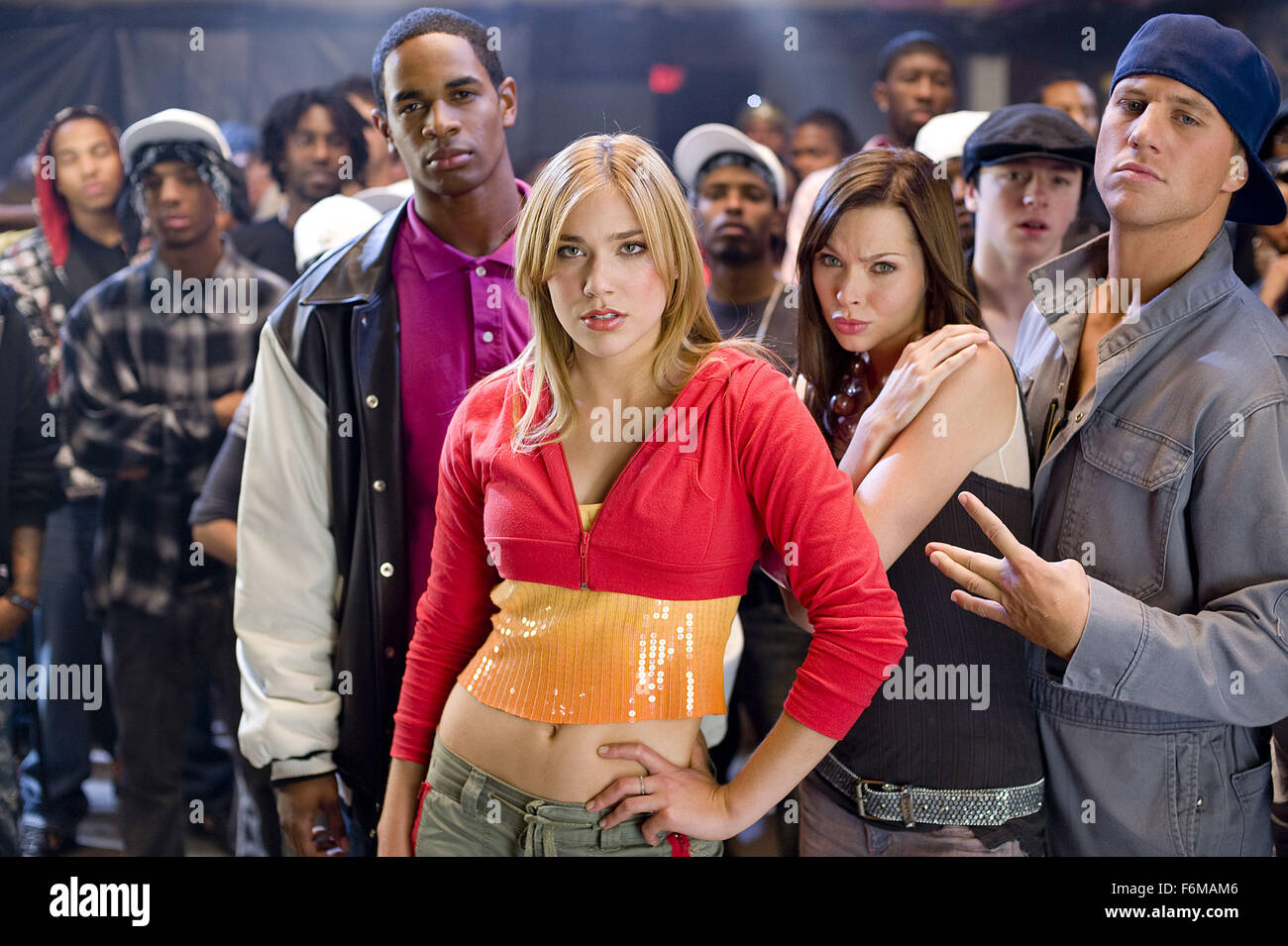 RELEASE DATE: August 14, 2009. MOVIE TITLE: Dance Flick. STUDIO: Paramount Pictures. PLOT: A satirical jab at musical - Stock Image