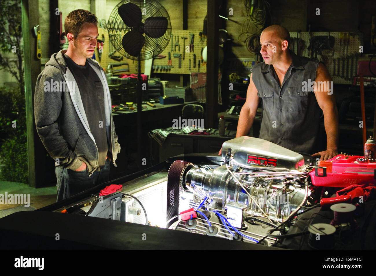 PAUL WALKER and Vin Diesel..'Fast & Furious' Film - 2009. Stock Photo