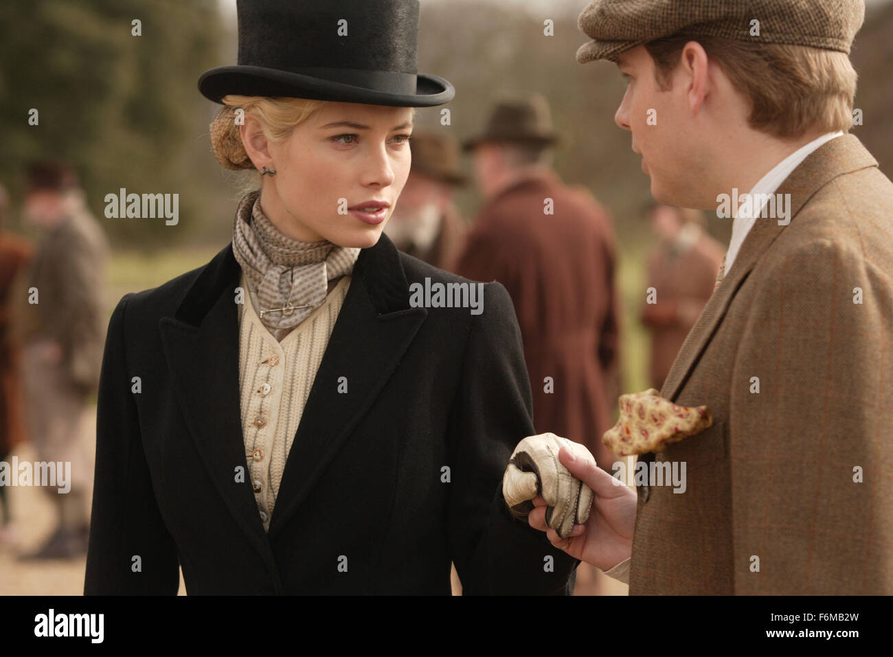 RELEASE DATE: May 22, 2009. MOVIE TITLE: Easy Virtue. STUDIO: Sony Pictures Classics. PLOT: A young Englishman marries - Stock Image