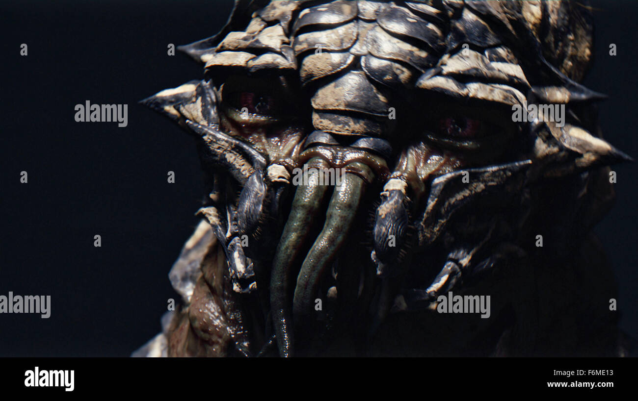 RELEASE DATE: August 19, 2009. MOVIE TITLE: District 9. STUDIO: TriStar Pictures. PLOT: An extraterrestrial race Stock Photo
