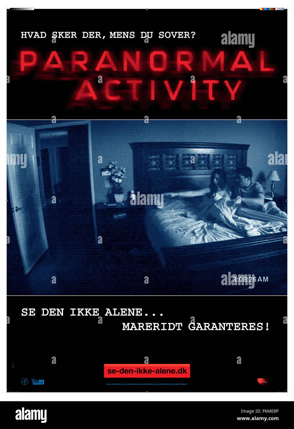 Release Date October 16 2009 Movie Title Paranormal Activity Stock Photo Alamy