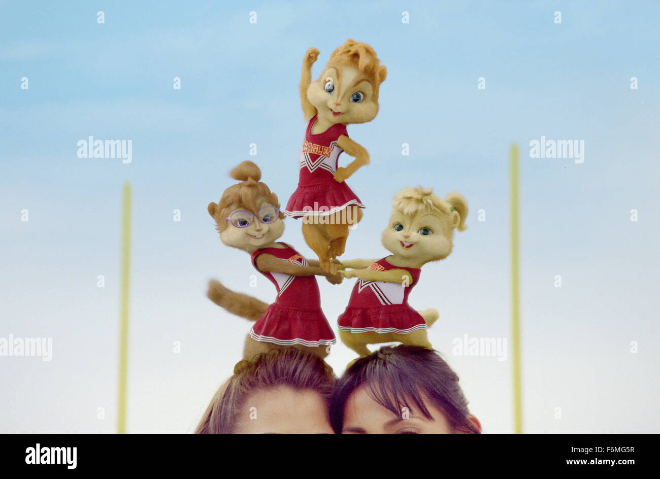 Alvin And The Chipmunks Alvin And Brittany brittany film title alvin and the chipmunks stock photos