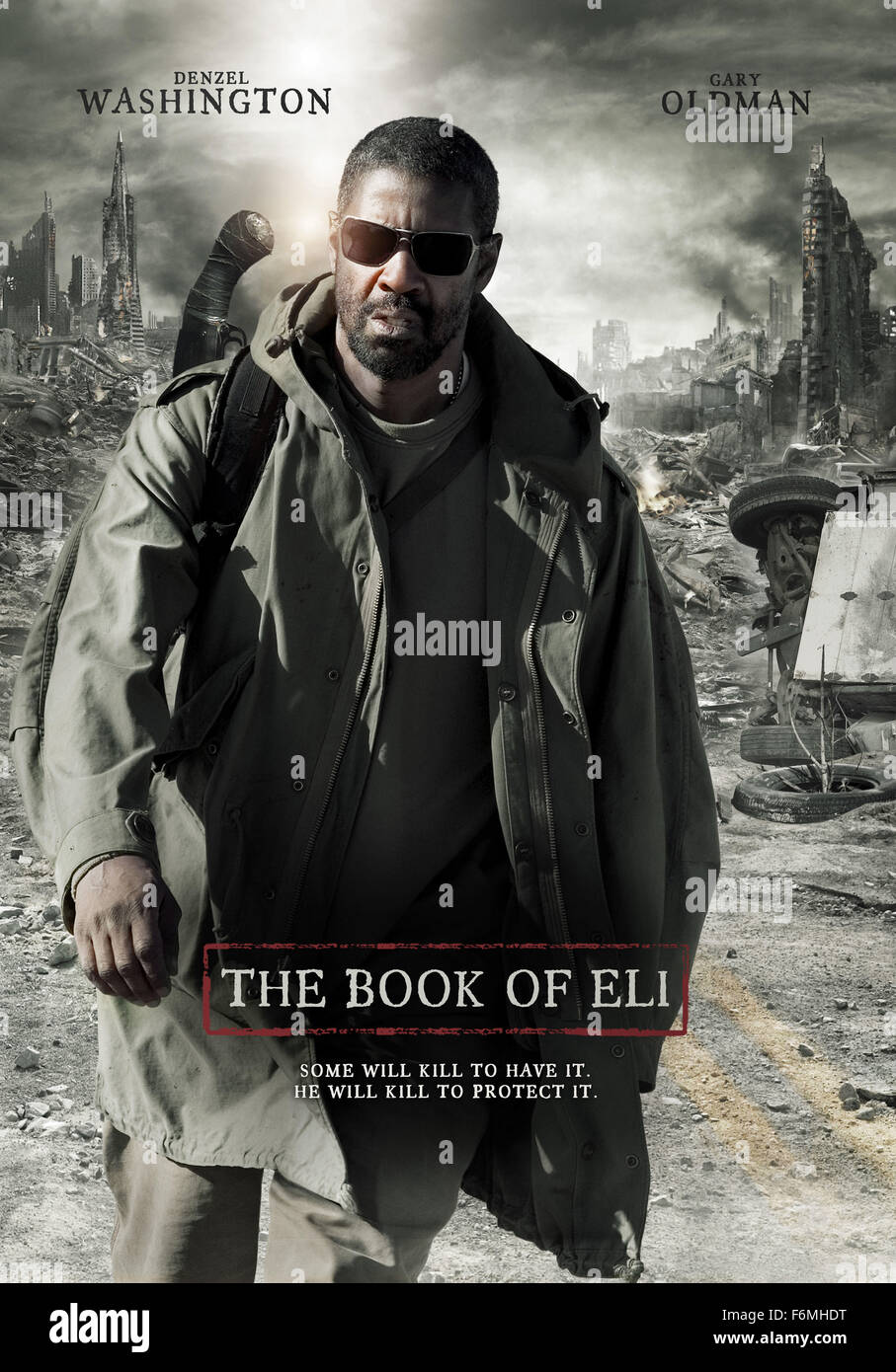 RELEASE DATE: January 15, 2010   MOVIE TITLE: The Book of Eli   STUDIO: Alcon Entertainment   DIRECTOR: The Hughes - Stock Image