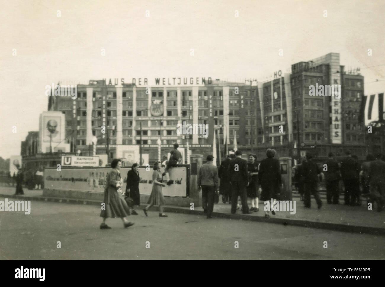 Berlin after World War II, Germany - Stock Image
