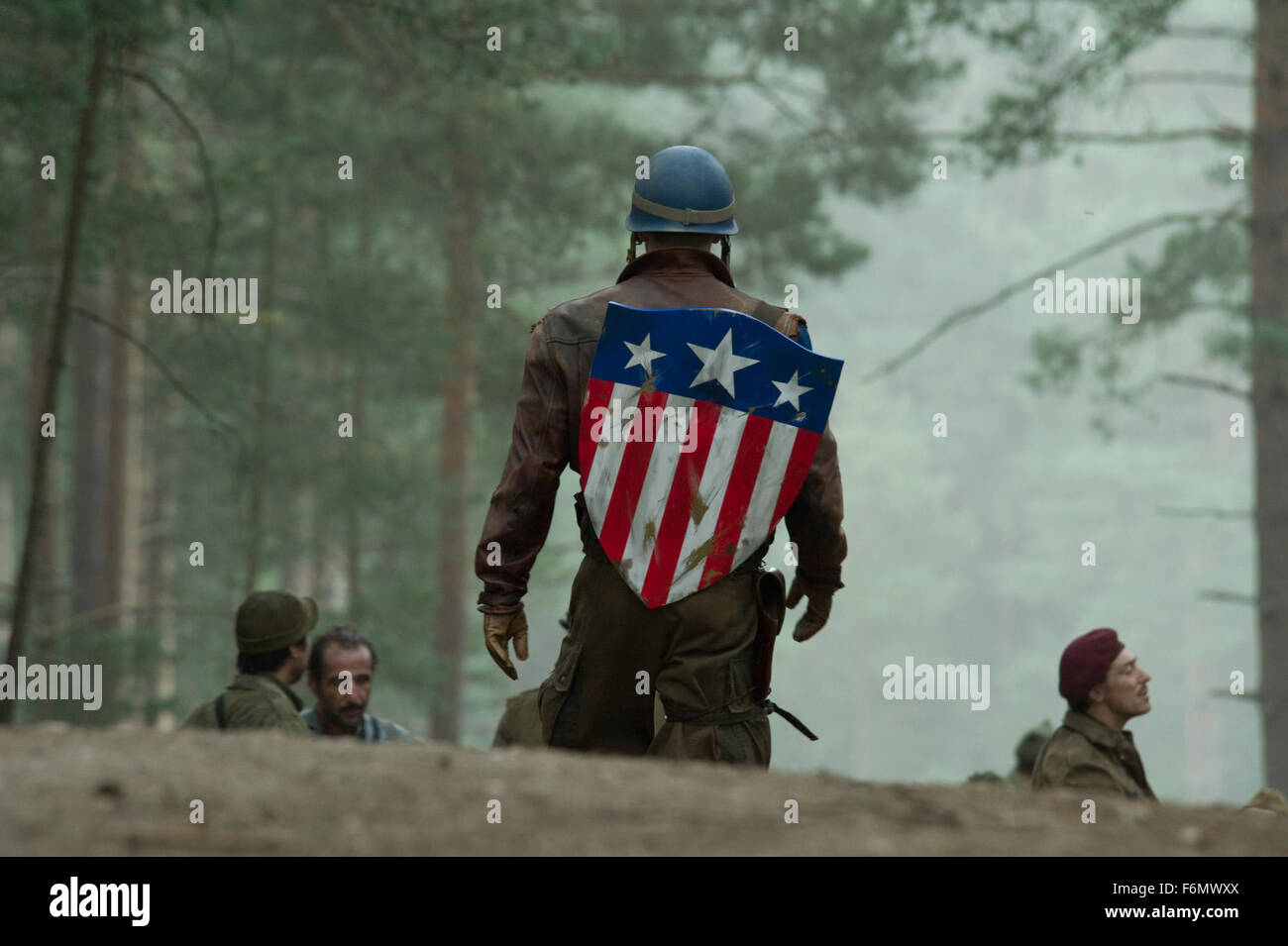 RELEASE DATE: July 22, 2011 MOVIE TITLE: Captain America