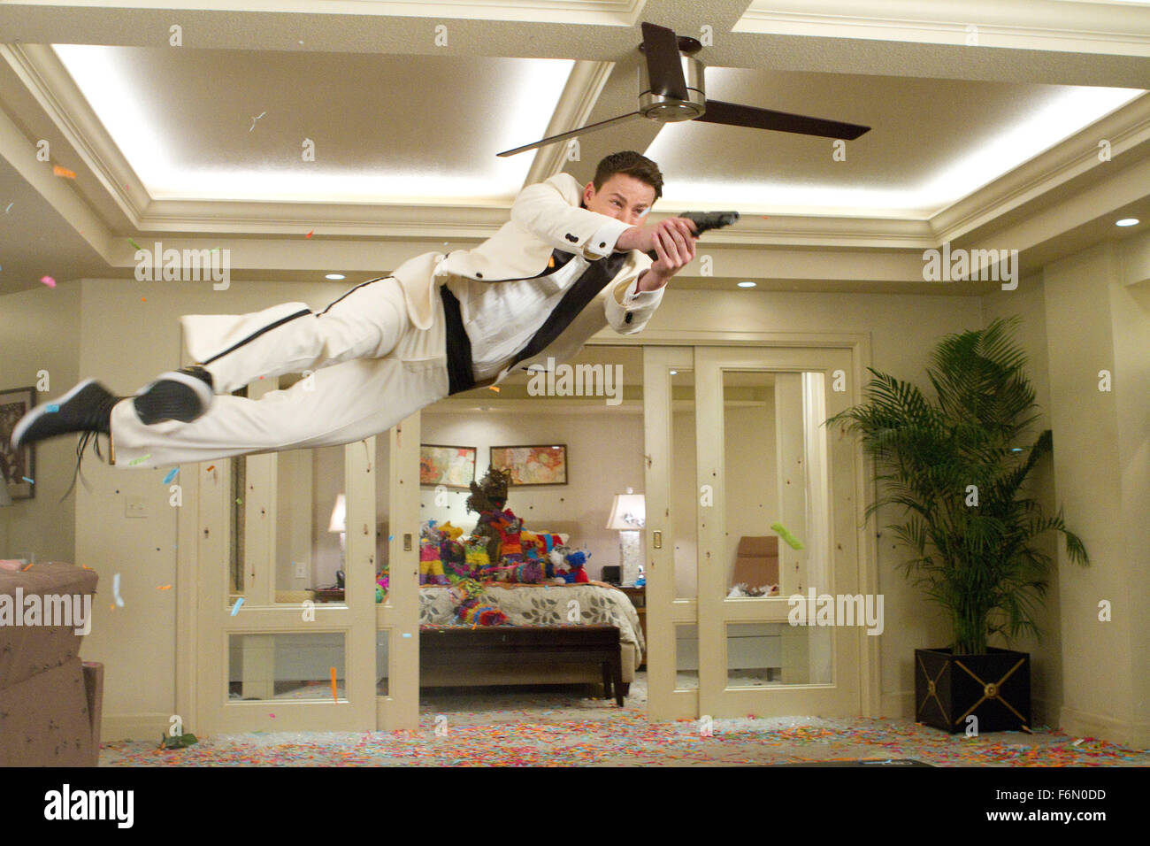 RELEASE DATE: March 16, 2012   MOVIE TITLE: 21 Jump Street   STUDIO: Columbia Pictures   DIRECTOR: PHIL LORD and - Stock Image