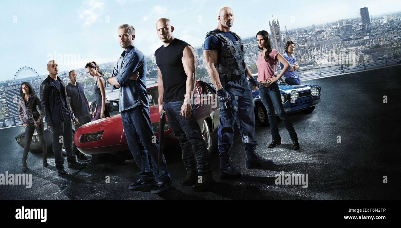 RELEASE DATE: TITLE: Furious 6 aka Fast & Furious 6 STUDIO: Universal Pictures DIRECTOR: Justin Lin PLOT: Hobbs Stock Photo