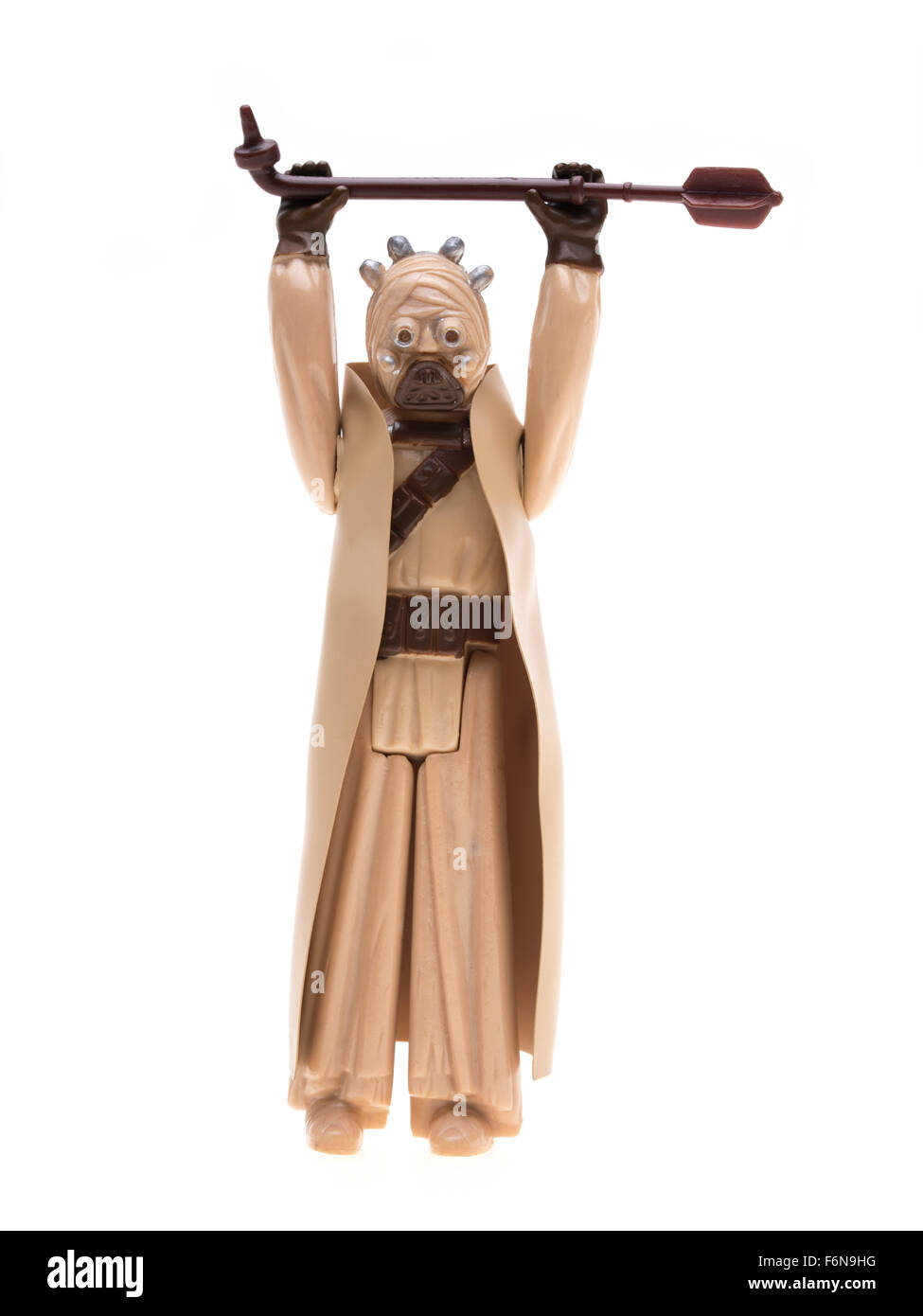 Tuscan Raider Star Wars action figure 1977 by Kenner - Stock Image