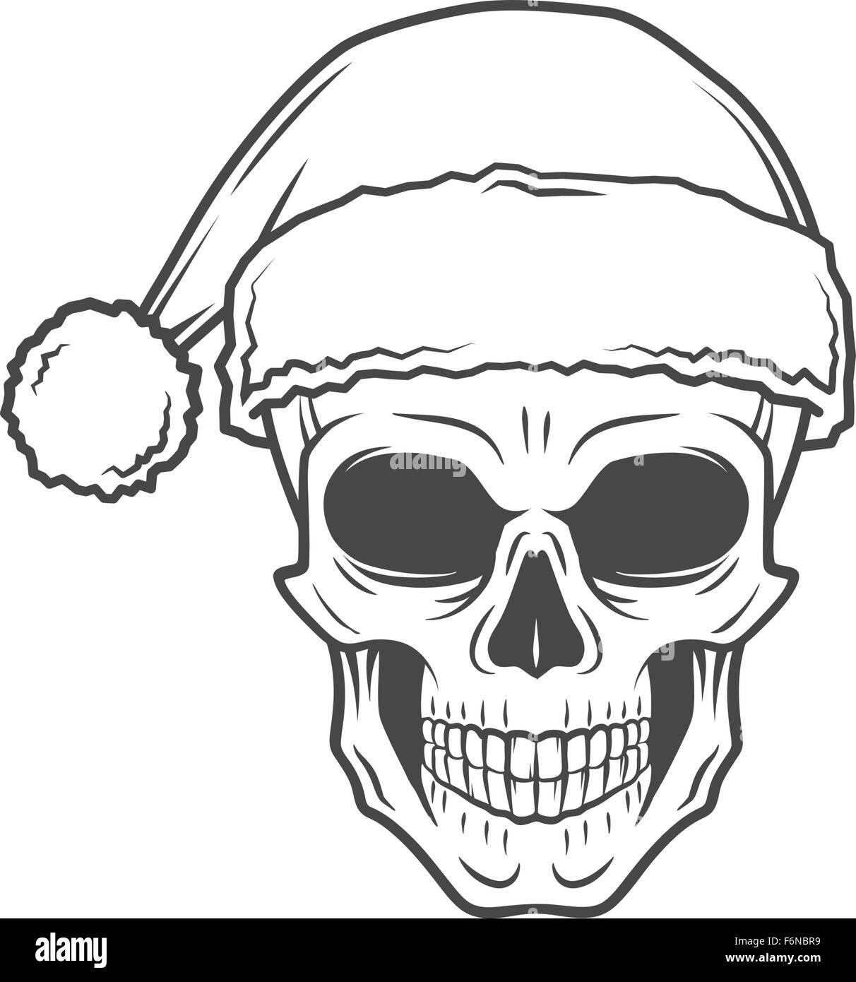 Heavy Metal Christmas.Heavy Metal Christmas Design Bad Santa Claus Biker Poster