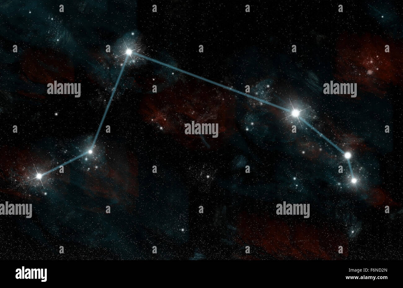 Aries constellation in the sky. What does the constellation Aries look like? 68