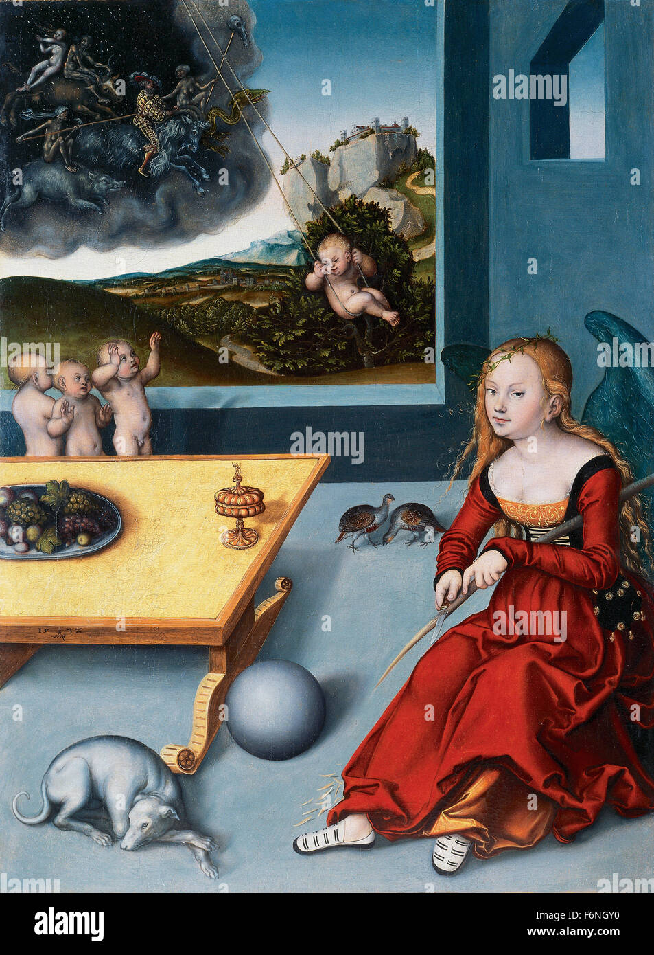Lucas Cranach the Elder -  Die Melanch - Stock Image
