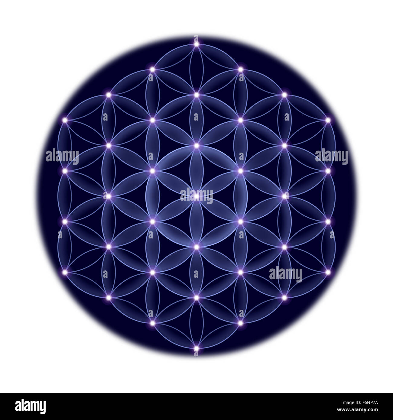 Flower Of Life Symbol Ancient Stock Photos & Flower Of