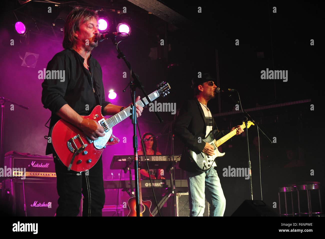 Chris Norman (Smokie): EUROPA, DEUTSCHLAND, HAMBURG: Chris Norman und Band live in der Großen Freiheit 36. Editorial use only. Stock Photo