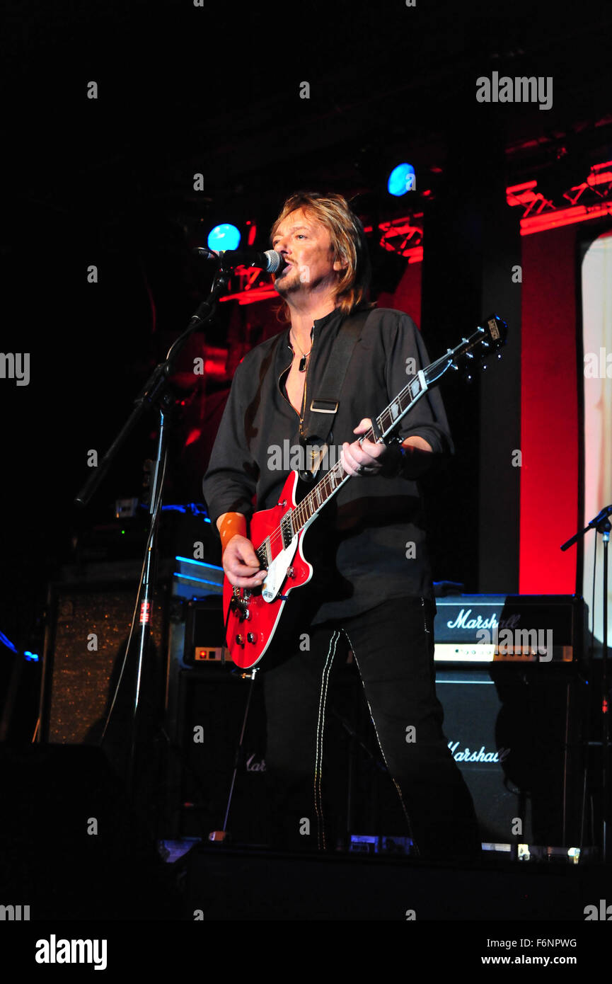 Chris Norman (Smokie): EUROPA, DEUTSCHLAND, HAMBURG: Chris Norman und Band live in der Großen Freiheit 36. Editorial Stock Photo