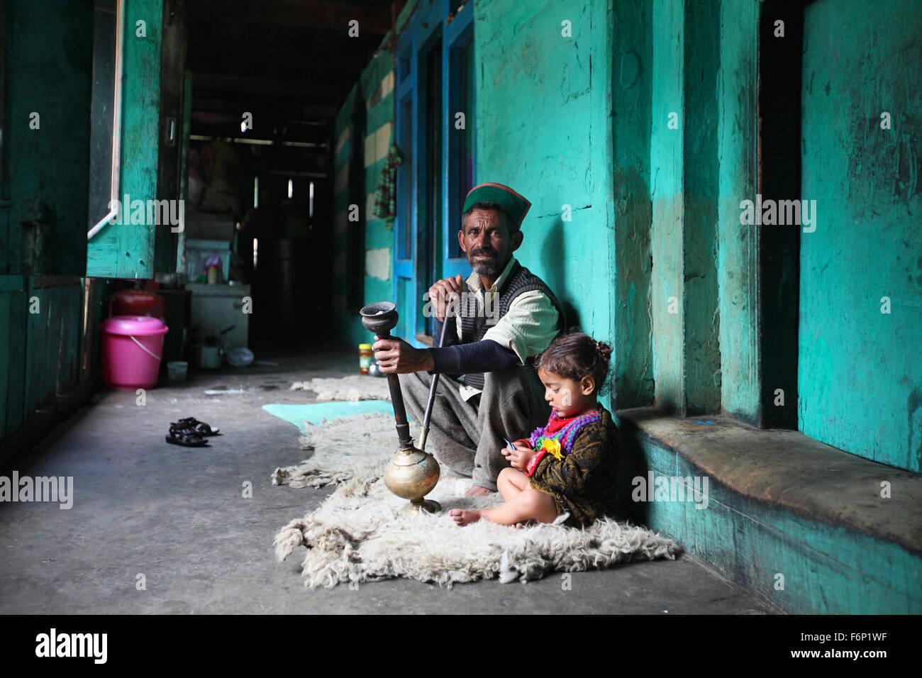 Chitkul Sangla Valley Himachal Pradesh Stock Photos & Chitkul Sangla Valley Himachal Pradesh ...