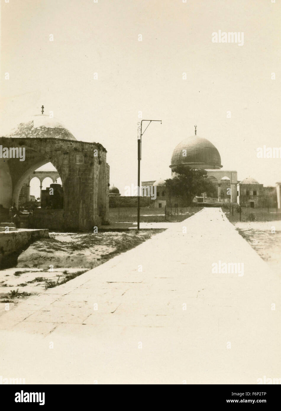 Omar Mosque, Dome of the Rock, Jerusalem - Stock Image
