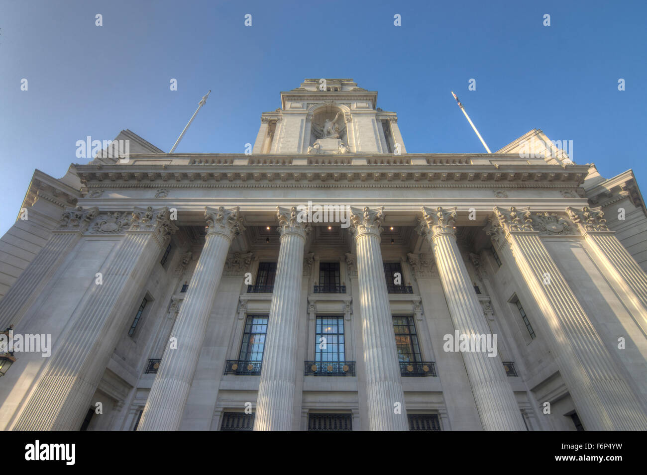 Old Port of London Building Four Season Hotel  Ten Trinity Square - Stock Image