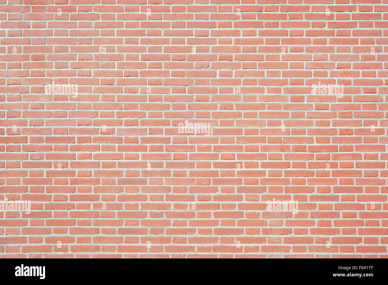 New red bricks wall texture background - Stock Image
