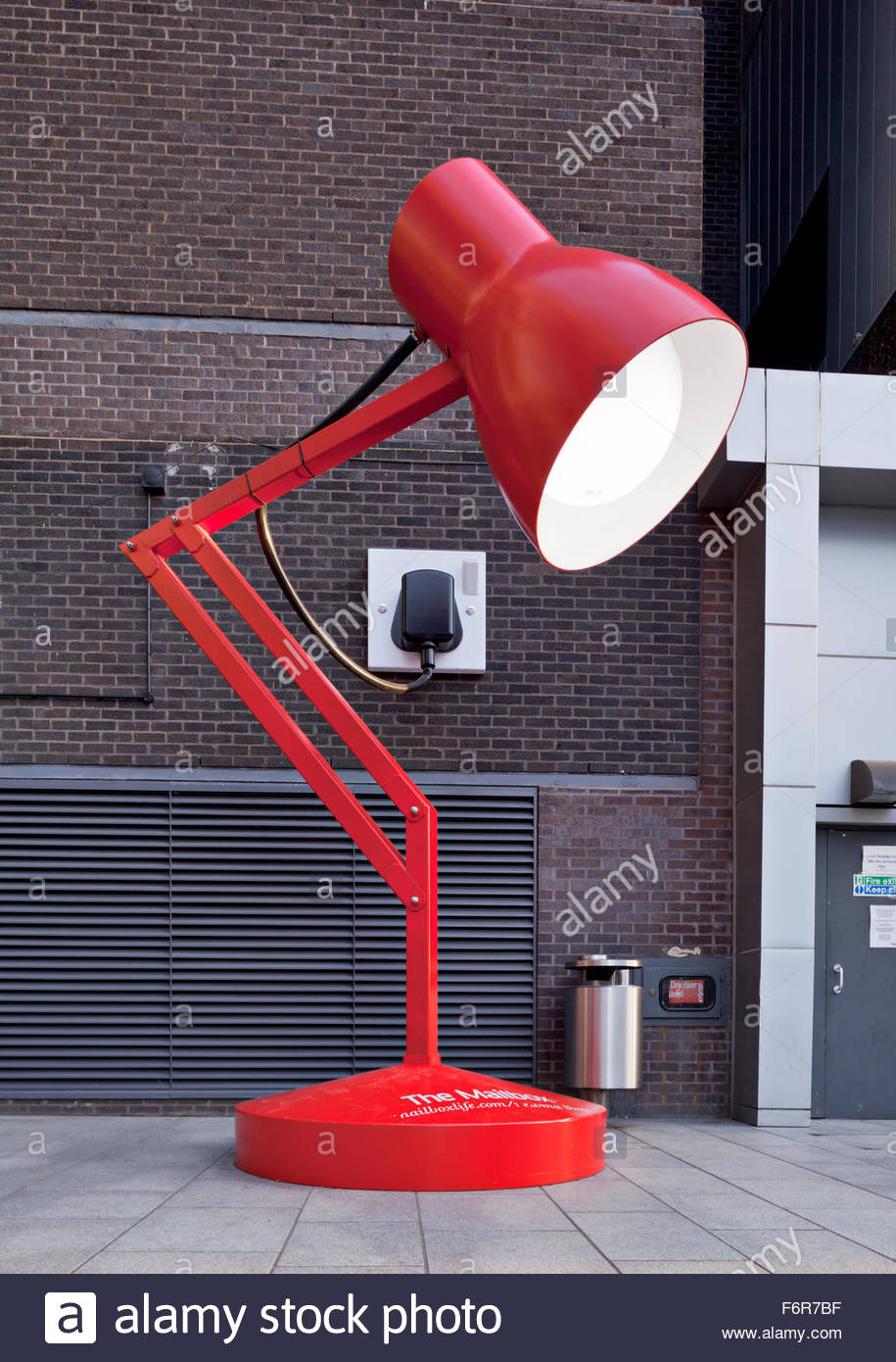 lamps glossy creative mini lamp zig steels desk furnitures uk industrial red stainless ideas zag design