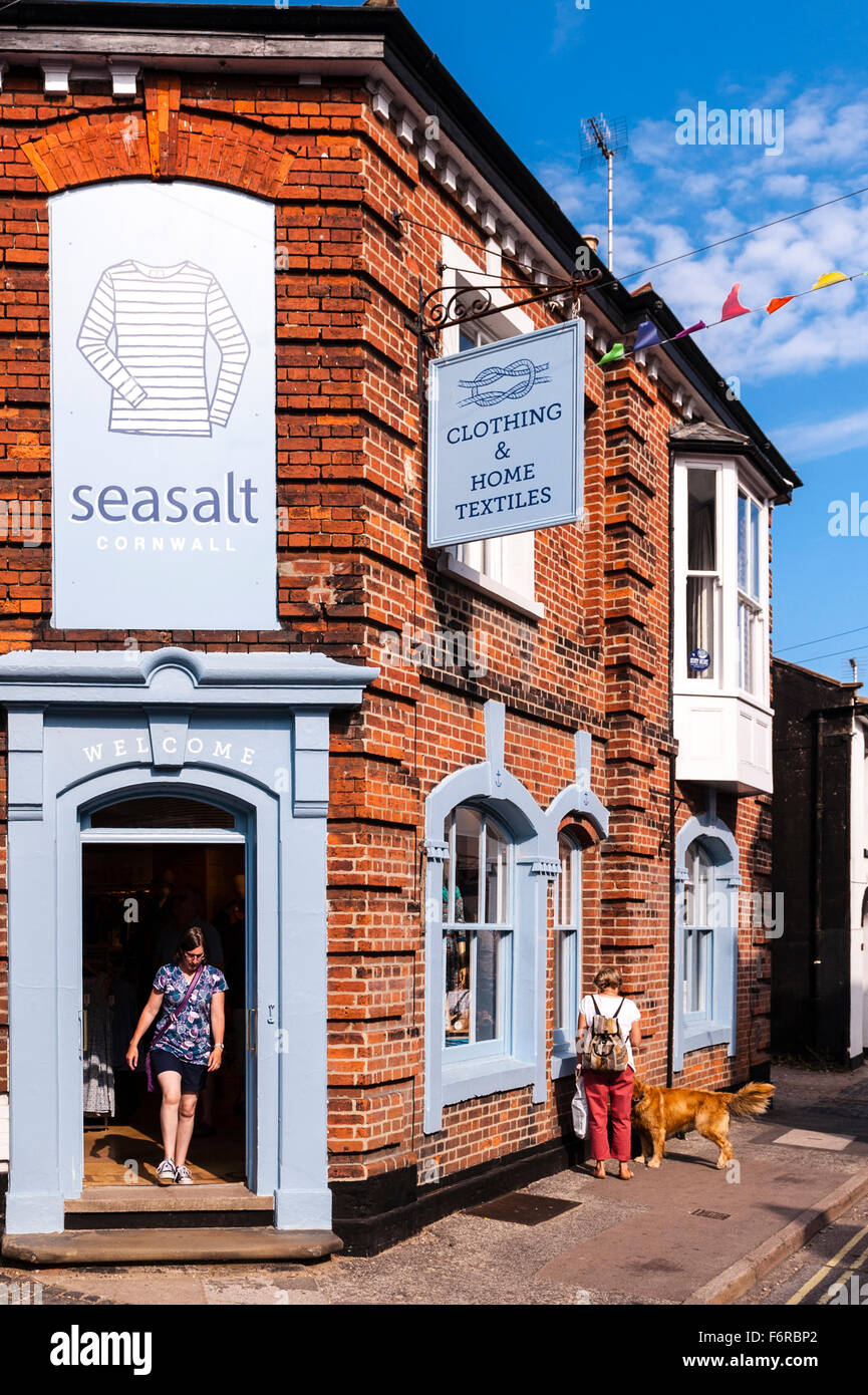 The seasalt Clothing shop store  in Southwold , Suffolk , England , Britain , Uk - Stock Image