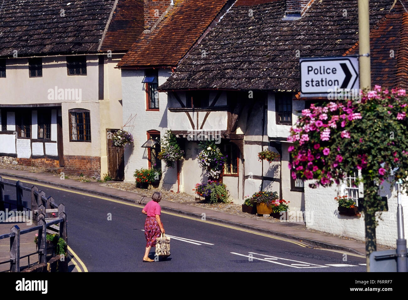 Steyning. West Sussex. England. UK. Europe Stock Photo