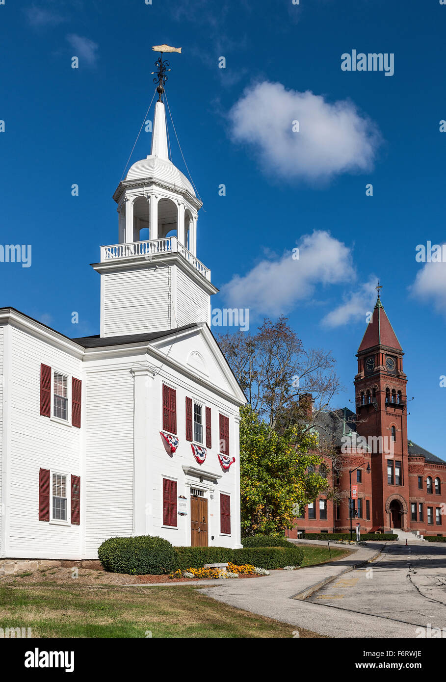 Pinkerton Academy campus, Derry, New Hampshire, USA - Stock Image