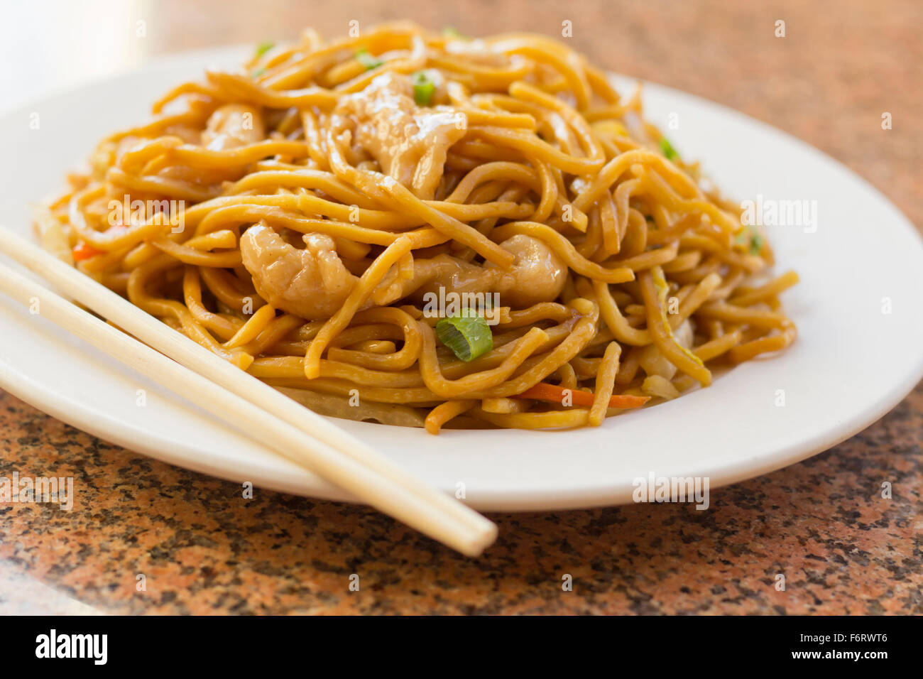 Delicious chinese food chicken lo mein stir fry stock photo delicious chinese food chicken lo mein stir fry forumfinder Images