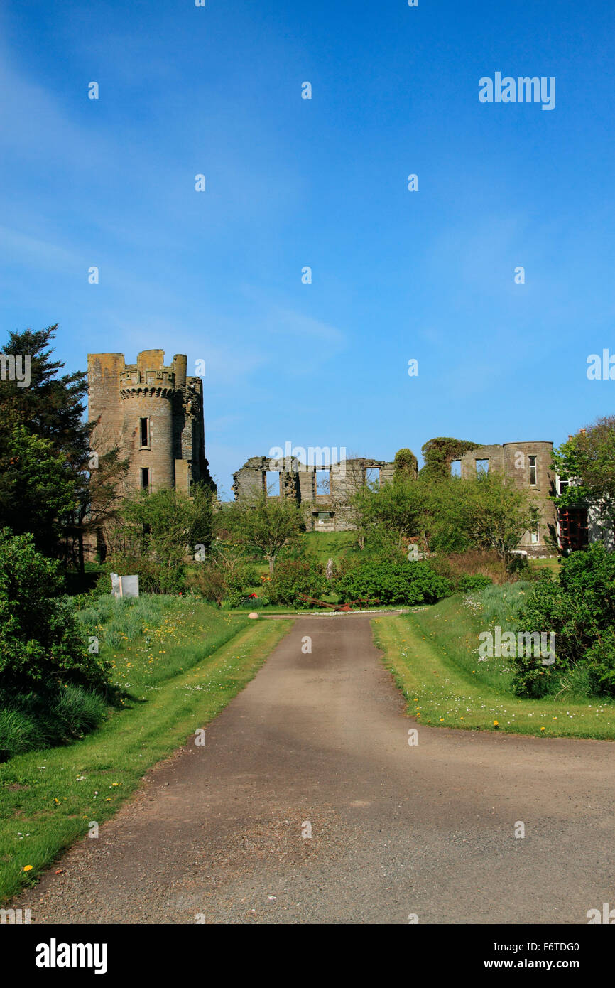 Thurso Castle - Stock Image