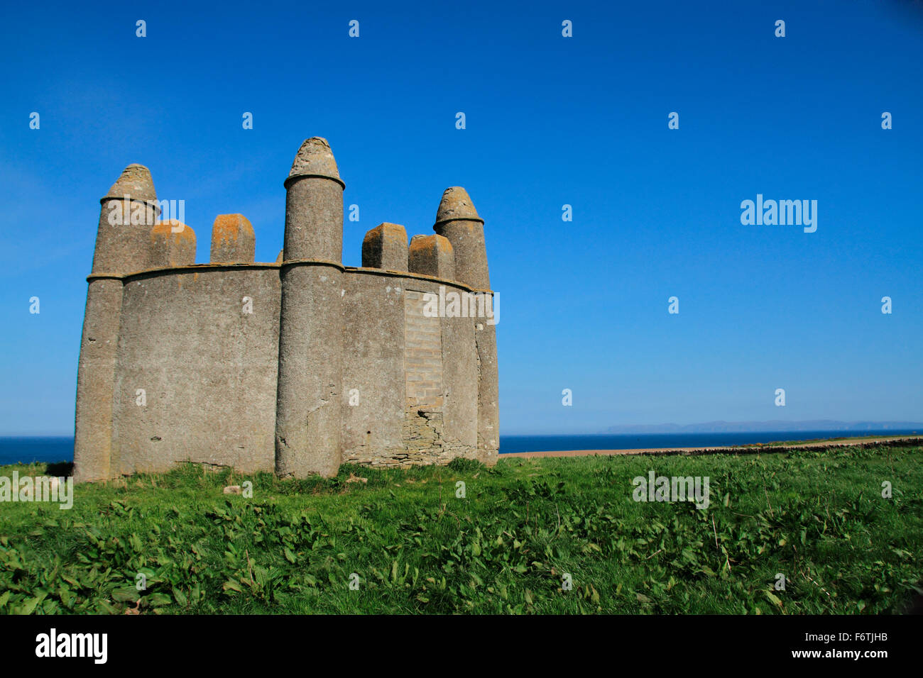 Caithness, Harold's Tower - Stock Image