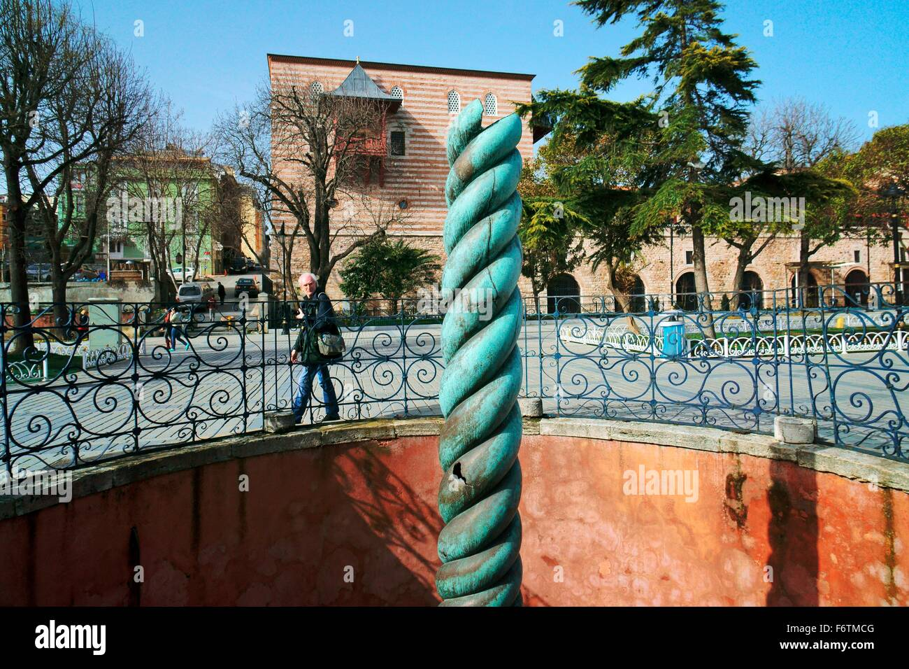 Serpent Column in the Hippodrome, Istanbul  Remains of 2500