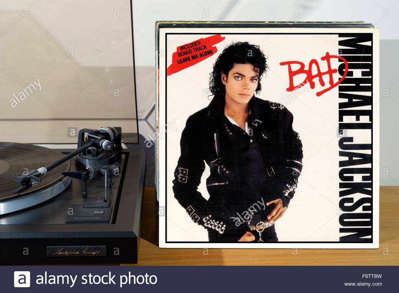 michael jackson bad album stock photos michael jackson bad album