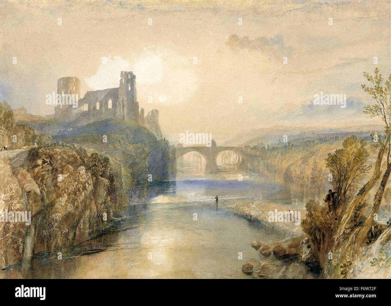 Joseph Mallord William Turner - Barnard Castle - Stock Image