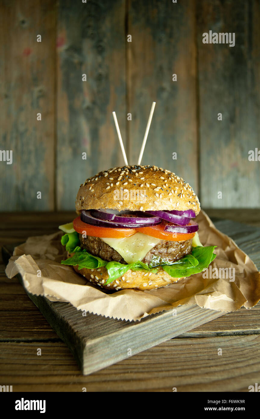 Hamburger - Stock Image