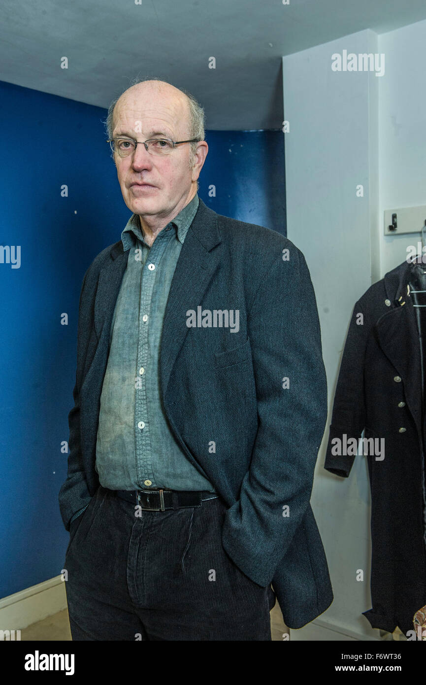 Iain Sinclair UK writer , film maker   pictured at 5 x 15 / event 25th Feb 2013  Tabernacle London W11. - Stock Image